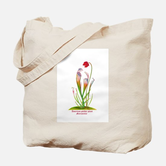 American Pitcher Plant Tote Bag