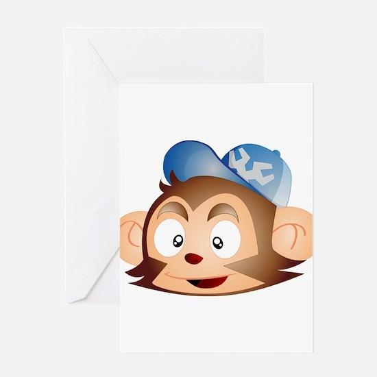 Grease Monkey Greeting Card