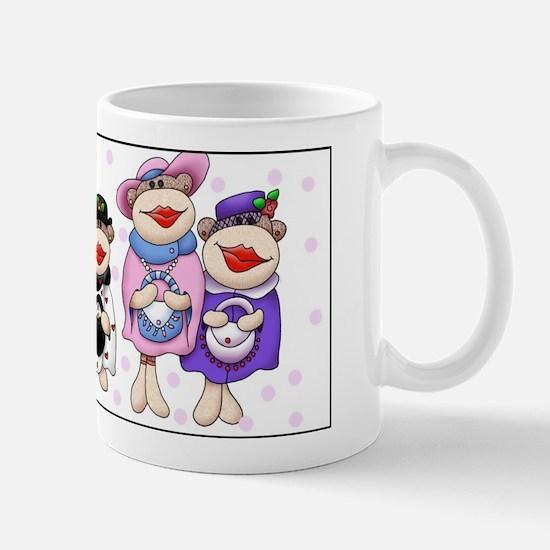 Sock Monkeys Mug