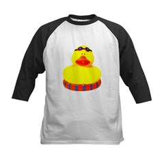 Rubber bather yellow duck Tee