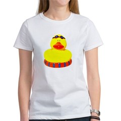 Rubber bather yellow duck Women's T-Shirt