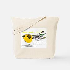 The Plork Bird - Yellow Tote Bag