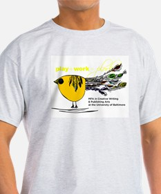 The Plork Bird - Yellow T-Shirt