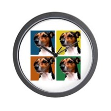 Jack Russell Pop Art Wall Clock