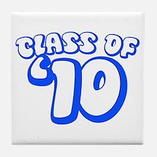 Class Of 09 (Blue Bubble) Tile Coaster