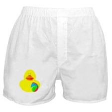 Ball Player Rubber Duck Boxer Shorts