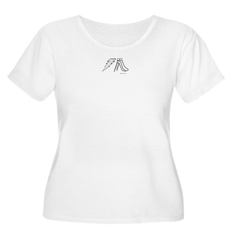 Electric Slide Women's Plus Size Scoop Neck T-Shir