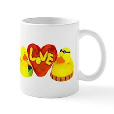 Lovely Valentine Duckies Mug