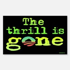 Thrill is Gone Sticker (Rectangle)
