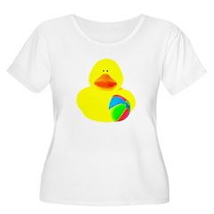Ball Player Rubber Duck T-Shirt