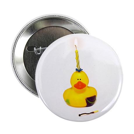 """Birthday Duck 2.25"""" Button (10 pack)"""