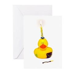 Birthday Duck Greeting Cards (Pk of 20)