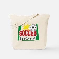 Ireland Soccer Tote Bag