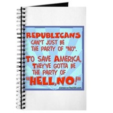"The party of ""HELL, NO!"" Journal"