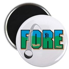 Fore! Magnet