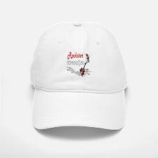 Rockstar Grandpa Baseball Baseball Cap