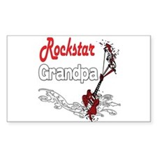 Rockstar Grandpa Decal