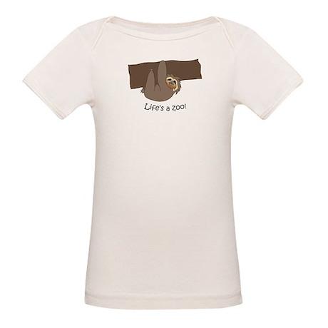 Sloth Organic Baby T-Shirt