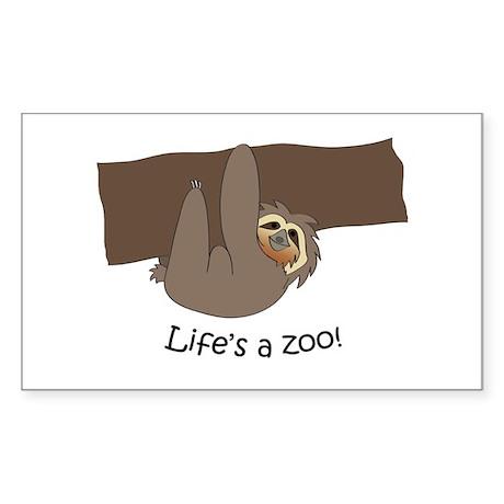 Sloth Sticker (Rectangle)