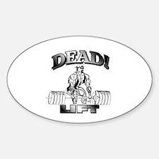 DeadLift T-shirt Oval Decal