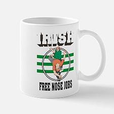 "Irish ""Free Nose Jobs"" Mug"
