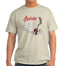 Rockstar Papa T-Shirt