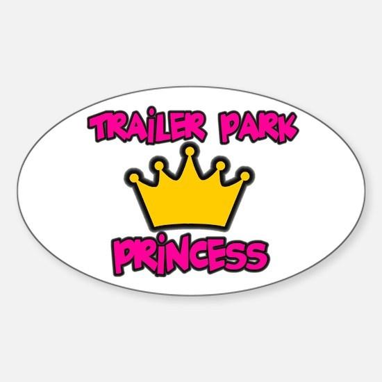Trailer Park Oval Bumper Stickers