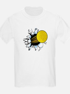 Golf Shot  Kids T-Shirt