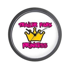 Trailer Park Princess Wall Clock