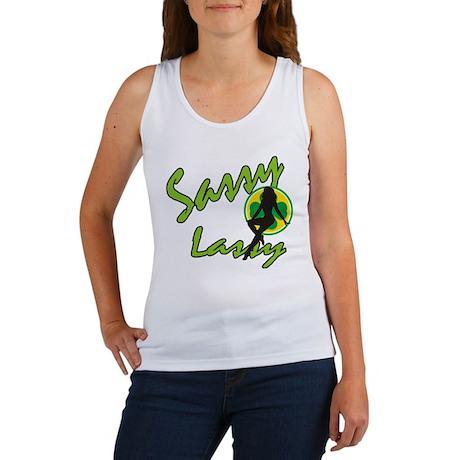 Irish Sassy Lassy Women's Tank Top