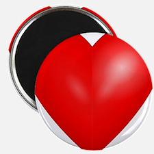 Big Red Heart 1 Magnet