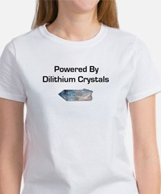 Powered by dilithium crystals Women's T-Shirt