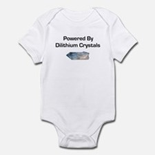 Powered by dilithium crystals Infant Bodysuit