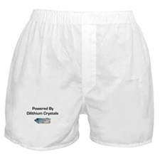 Powered by dilithium crystals Boxer Shorts