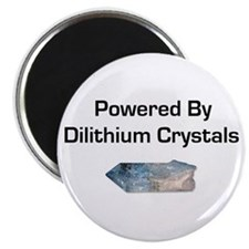 "Powered by dilithium crystals 2.25"" Magnet (10 pac"