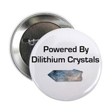 """Powered by dilithium crystals 2.25"""" Button (10 pac"""