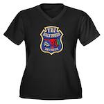 FBI Baltimore Division Women's Plus Size V-Neck Da