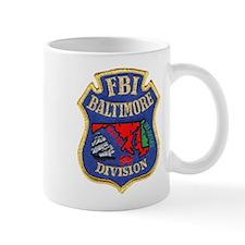 FBI Baltimore Division Mug