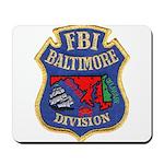FBI Baltimore Division Mousepad