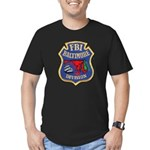 FBI Baltimore Division Men's Fitted T-Shirt (dark)