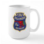 FBI Baltimore Division Large Mug