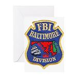 FBI Baltimore Division Greeting Card