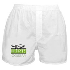 Irish Cougar Boxer Shorts