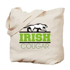 Irish Cougar Tote Bag