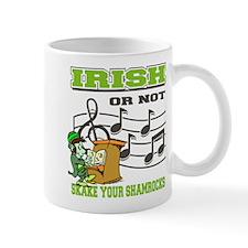 Irish Shake Your Shamrocks Mug