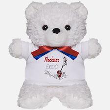 Rockstar Aunt Teddy Bear