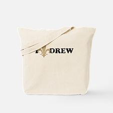 I heart drew Tote Bag