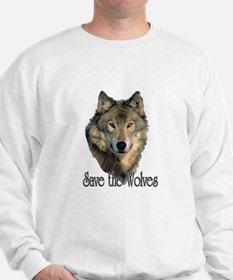 Save Wolves Sweatshirt