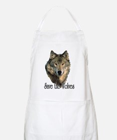 Save Wolves Apron