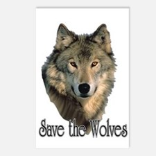 Save Wolves Postcards (Package of 8)